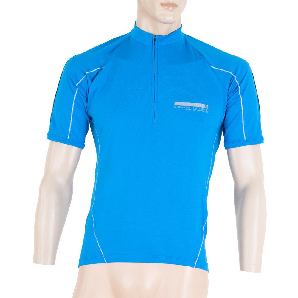 e54fe4bad SENSOR CYKLO ENTRY pánský dres kr.ruk. modrá - SENSOR Activewear ...