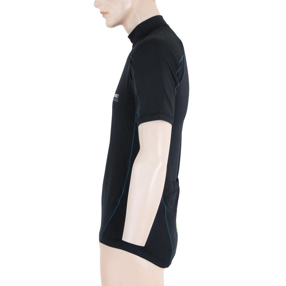 d3d0bdb5d SENSOR CYKLO ENTRY pánský dres kr.ruk. černá - SENSOR Activewear ...