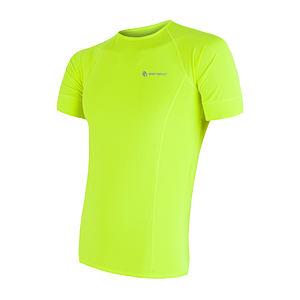 SENSOR COOLMAX FRESH pánské triko kr.rukáv reflex žlutá