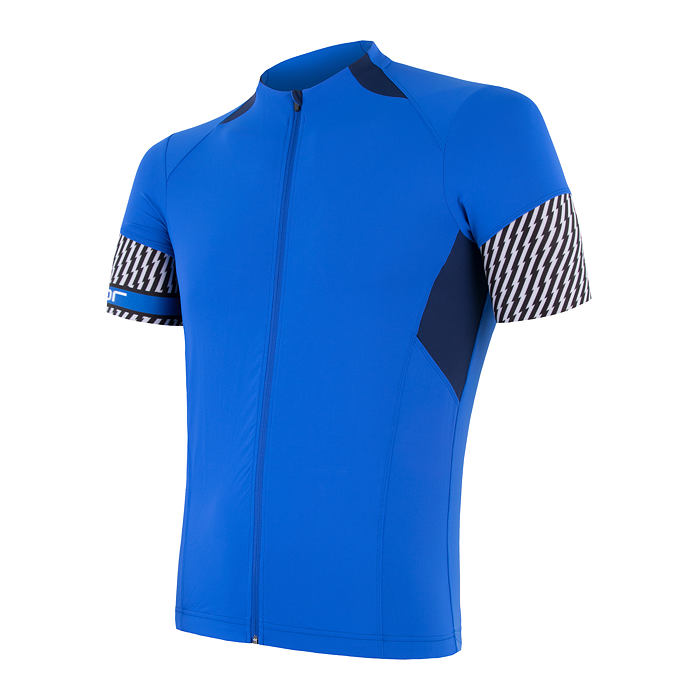 SENSOR CYKLO RACE pánský dres kr.ruk. modrá/tm.modrá