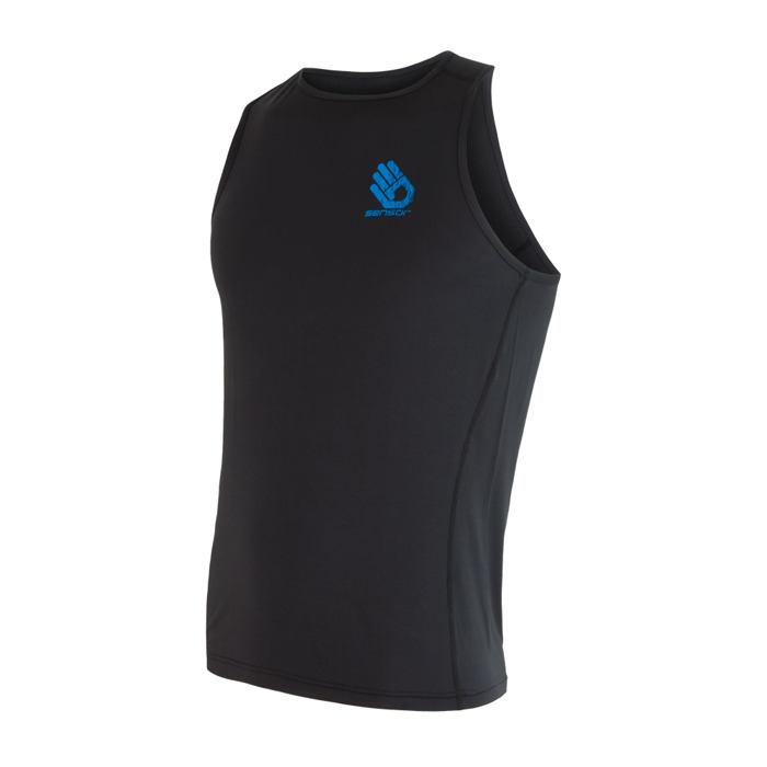 SENSOR COOLMAX FRESH PT HAND pánské triko bez rukávů černá