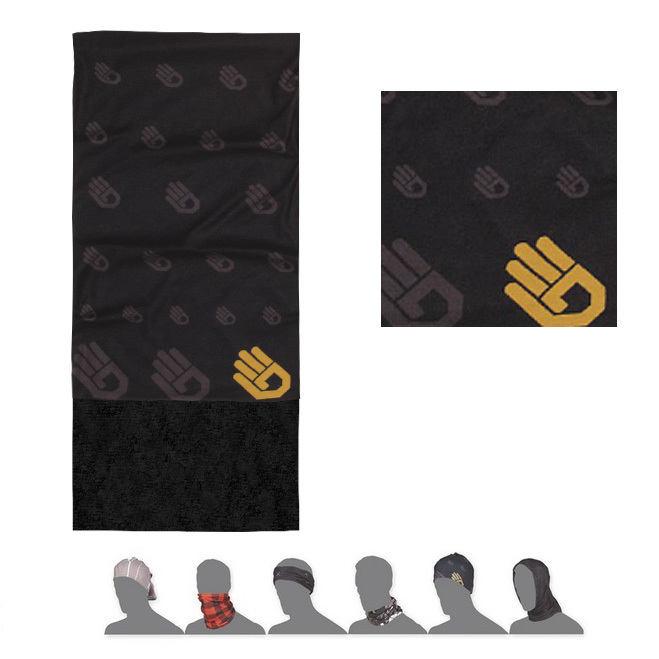 SENSOR TUBE FLEECE HAND šátek multifunkční černá