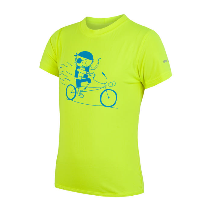 SENSOR COOLMAX FRESH PT PIRATE dětské triko kr.rukáv reflex žlutá